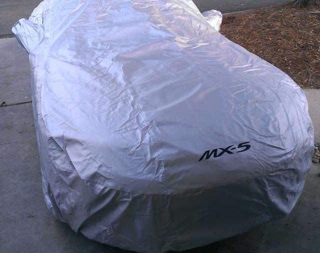 Miata car cover