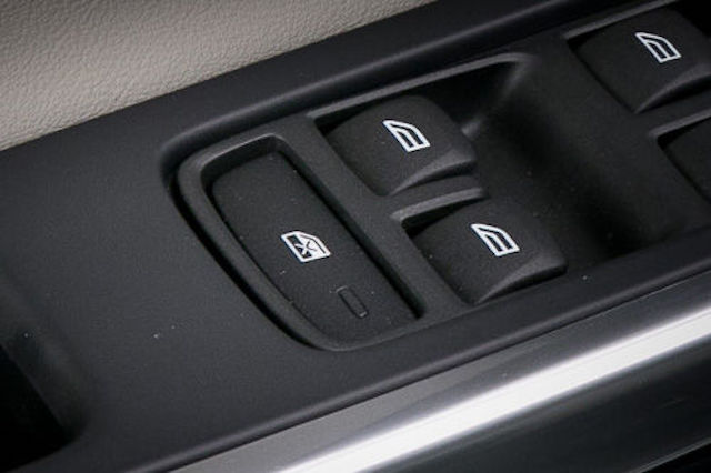 Power window button