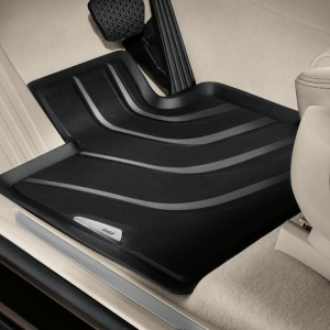 All Weather Rubber Floor Mats - Front
