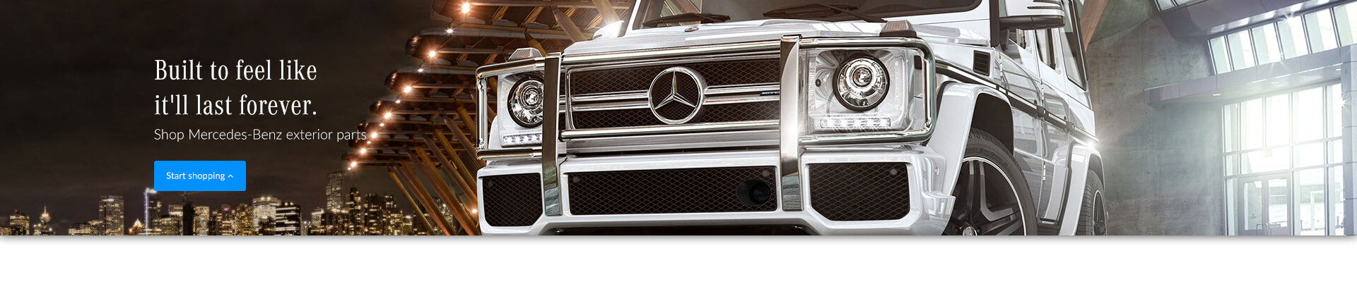 Genuine Mercedes-Benz Exterior Parts