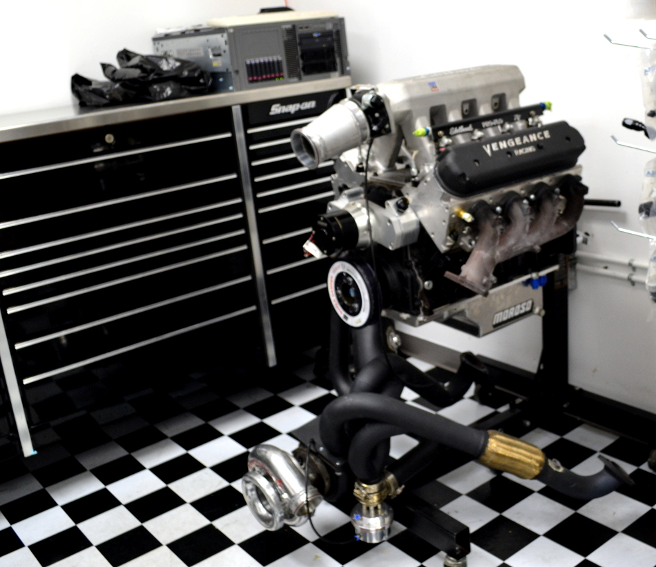 1200hp 6.0L GM engine rescued from the junkpile