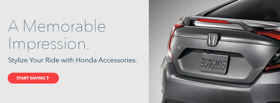 Save on Honda Accessories