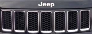 Grand Cherokee Black Honeycomb Grill Inserts 2014-2015