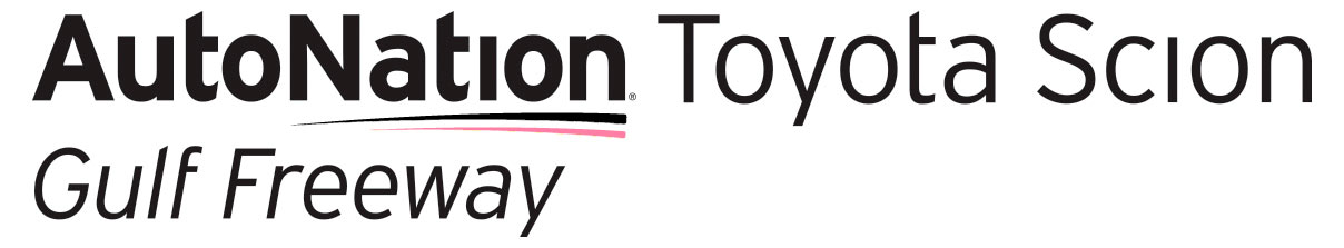 AutoNation Toyota Gulf Freeway Parts Logo