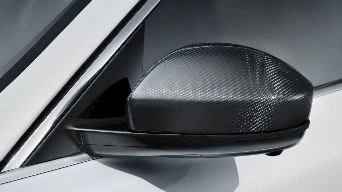 Jaguar Carbon Fiber Mirror Covers