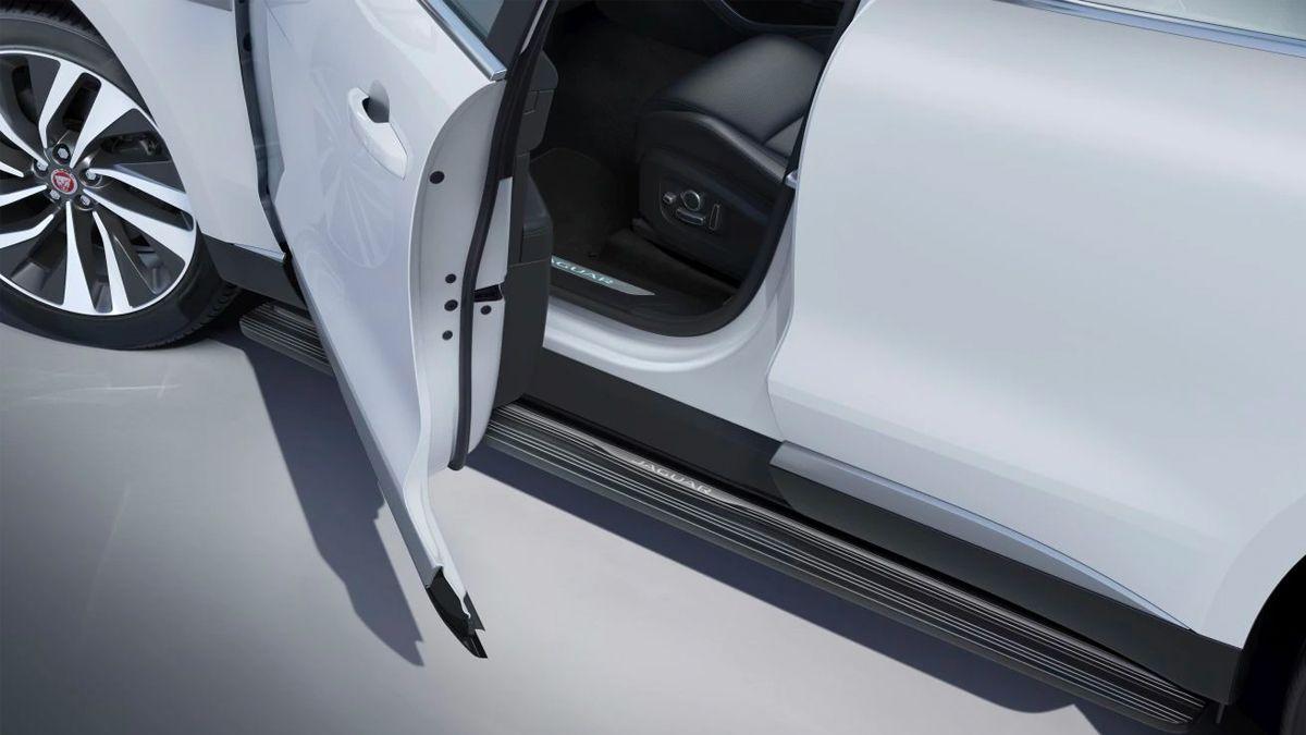 Jaguar Deployable Side Steps