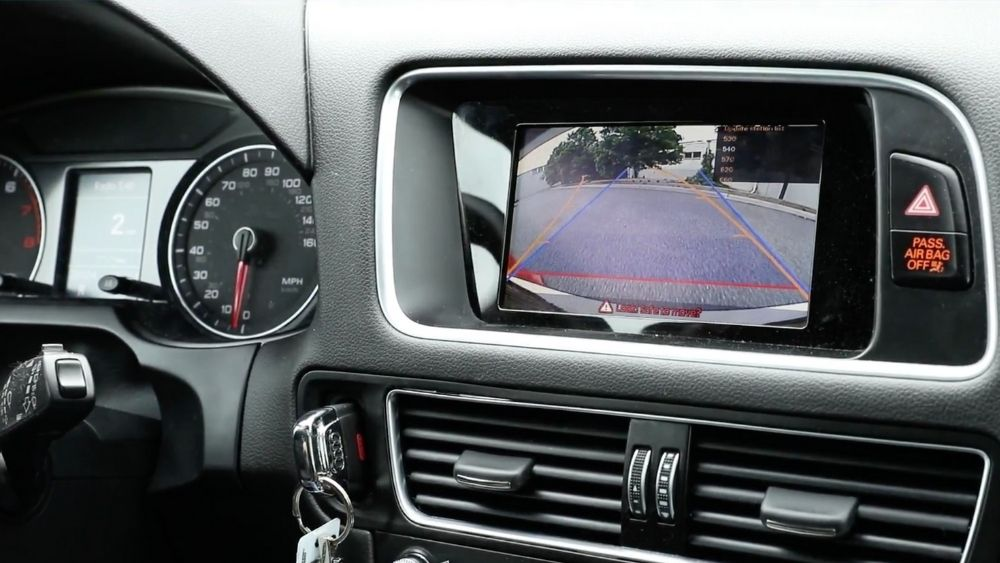 So what, exactly, is a backup camera? To put it simply: It's a camera that helps you not bump into things when you are backing up your car. Like a tree, fire hydrant or stray dog.
