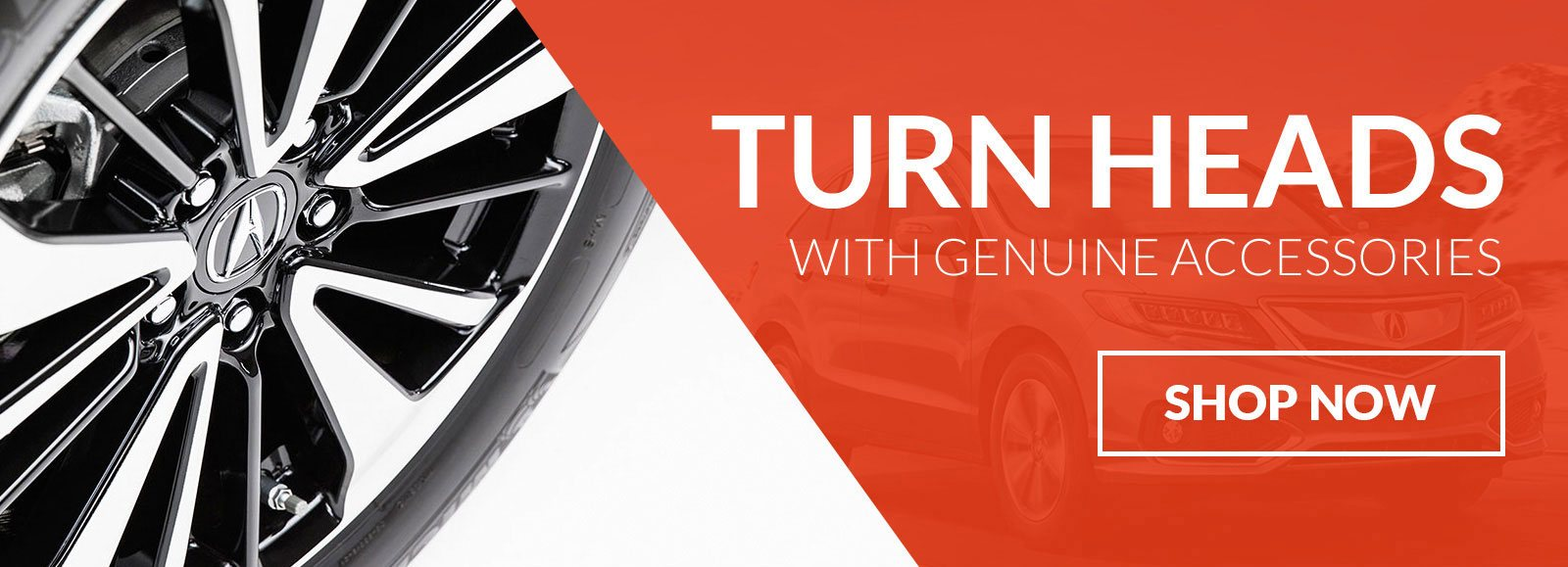 Turn Heads with Genuine Acura Accessories