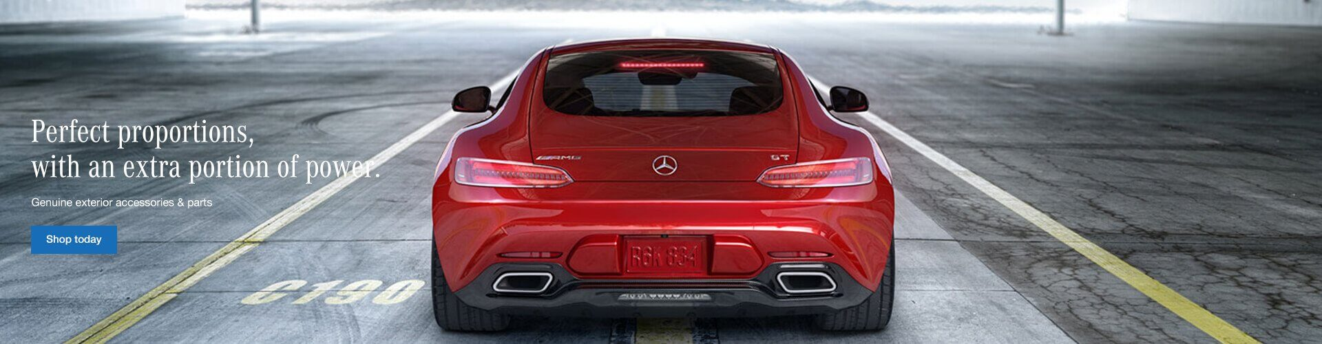 Genuine Mercedes-Benz Exterior Accessories