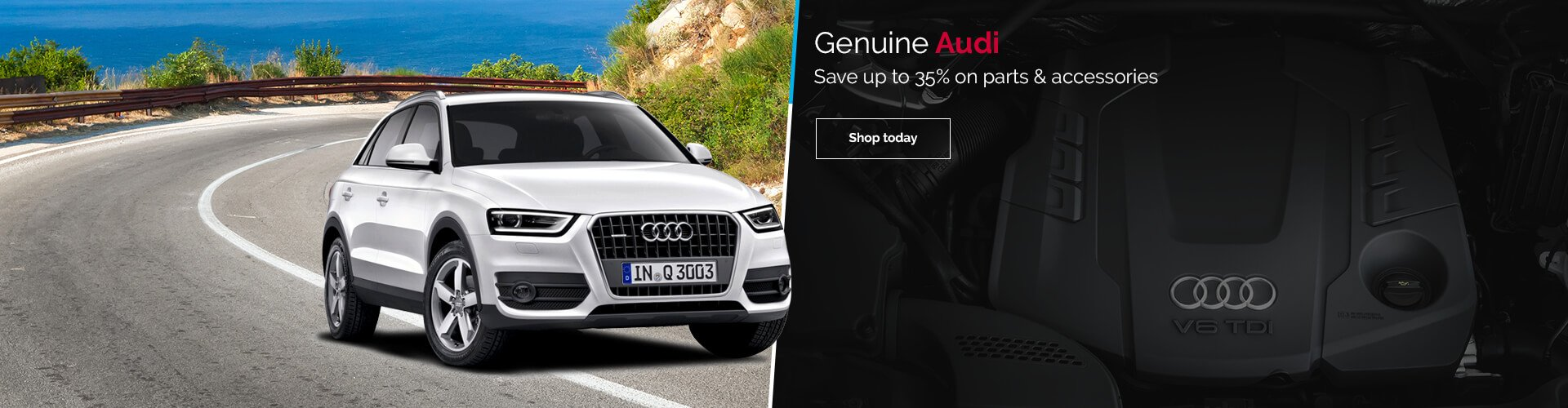 Genuine Audi Parts & Accessories