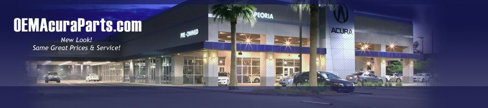 OEM Acura Parts Banner 1