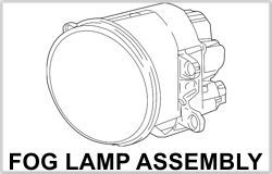 Tundra Fog Light Assembly
