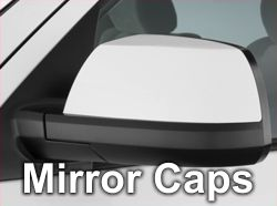Tundra Side Mirror Caps
