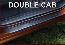 Door Sill Protectors Double Cab