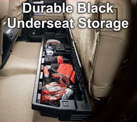 Tundra Underseat Storage