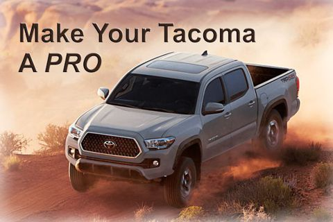 Make Your Tacoma a PRO