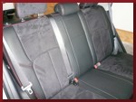 Clazzio Suede Seat Covers