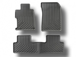 2012 Honda Civic Sedan - 4 Door - Black All-Weather Floor Mats