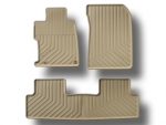 2012 Honda Civic Sedan - 4 Door - Beige All-Weather Floor Mats