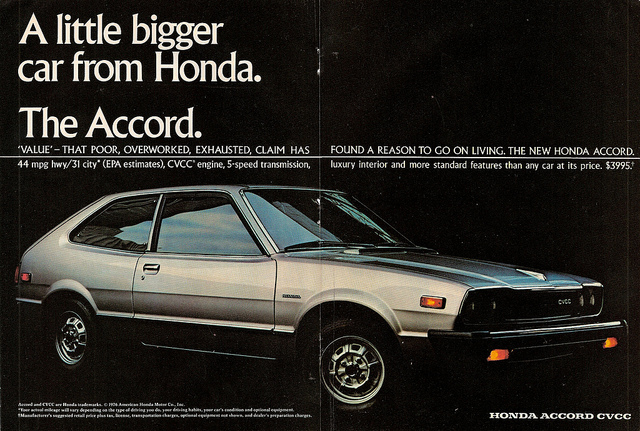 Accords facts 76 Accord