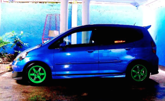 Honda Fit aftermkt wheels