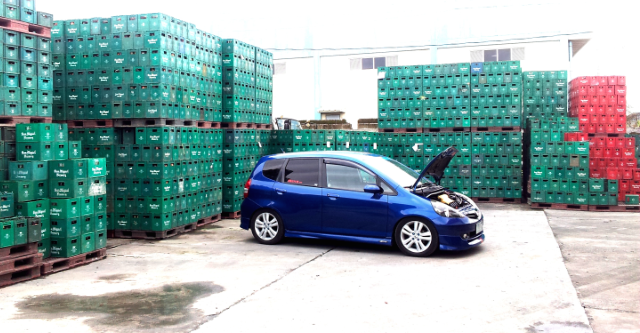 Honda Fit modified