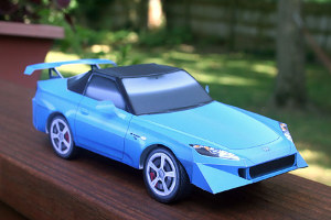 Honda S2000 Paper Right Front