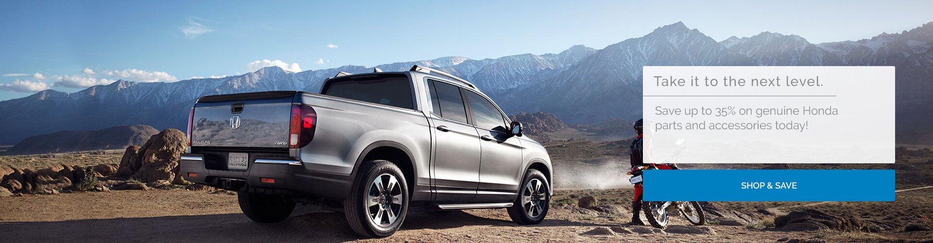 Genuine Honda Ridgeline Parts and Accessories