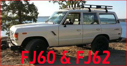 FJ60 AND FJ62 LANDCRUISER