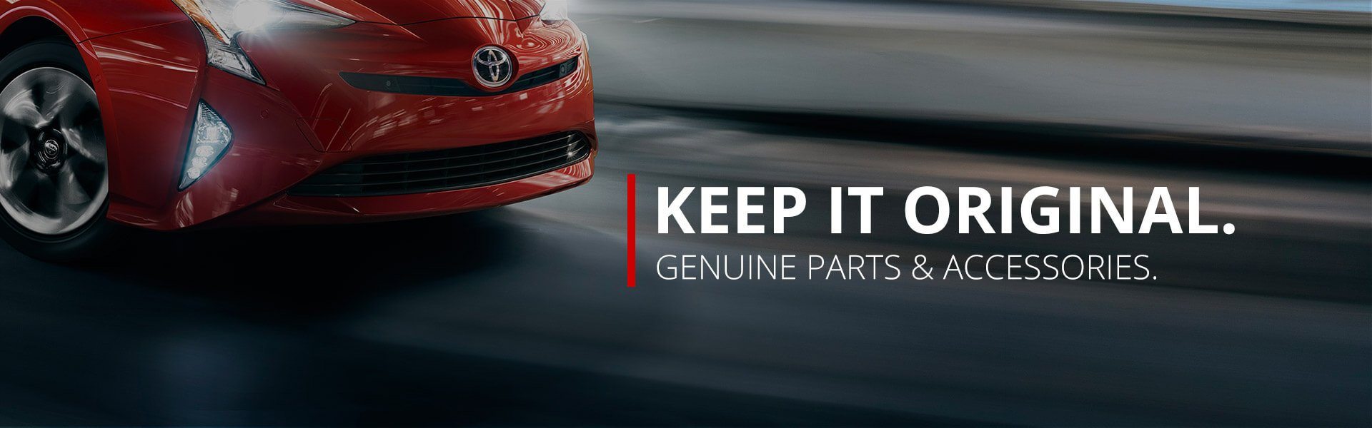 Toyota OEM parts and accessories