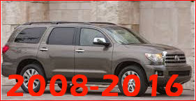 Toyota Sequoia 2008 and UP