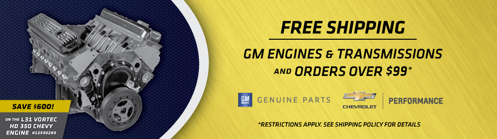 Free Shipping on GM 12530283