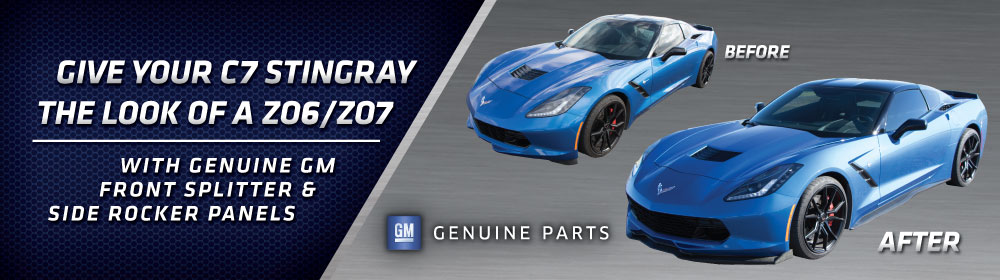 C7 Z06 Ground Effects Kit