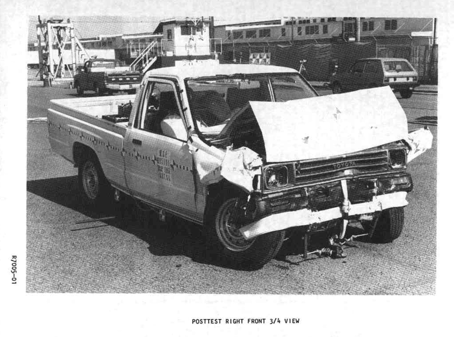toyota pickup crash test 1