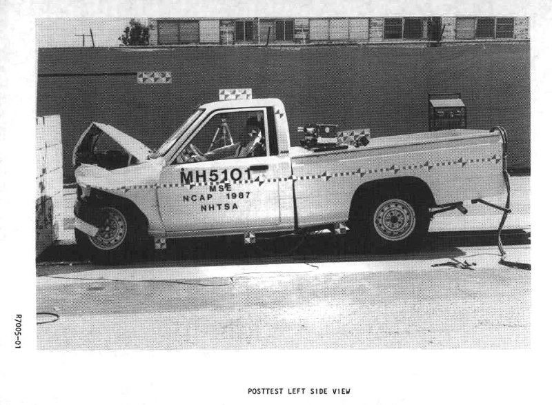 toyota pickup crash test 2