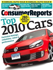 The April Cover of Consumer Reports