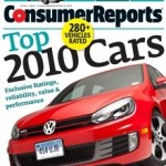 Consumer Reports Place Two Toyota Vehicles in Top Ten of 2010