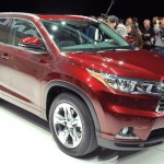 2014 Toyota Highlander Debuts in New York – Larger, New Interior
