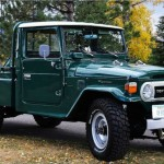 1978 Toyota FJ45 Land Cruiser Long Bed Pickup – Rare and Beautiful