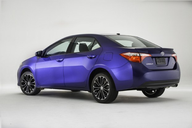 2014 Toyota Corolla Unveiled - Improved Styling and Better Features - Rear Profile