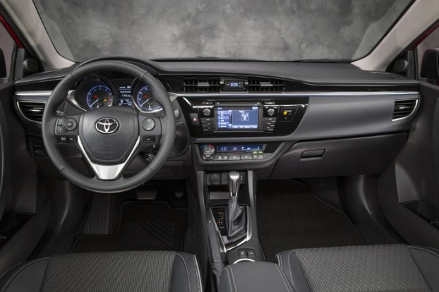 2014 Toyota Corolla Unveiled - Improved Styling and Better Features - Interior