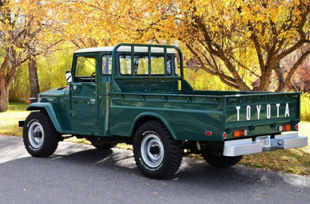 1978 Toyota FJ Land Cruiser Long Bed Pickup - Rare and Beautiful