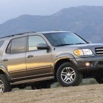 Toyota Sequoia Maintenance – Replace Brake Pads