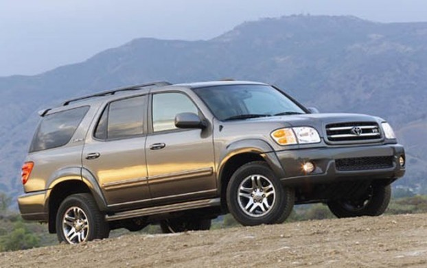 2005 Toyota Sequoia Maintenance - Replace Brake Pads