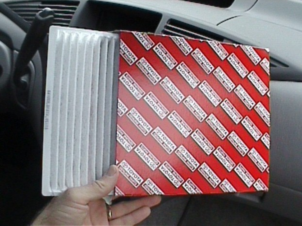 Toyota Maintenance - How to Change Cabin Air Filter