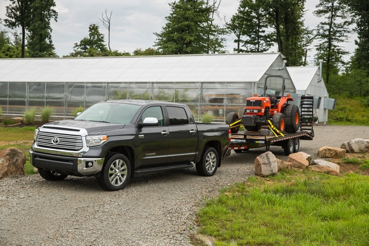 Toyota Tundra Towing Capacity >> Toyota Parts Toyota Wins Towing Safety Award Only