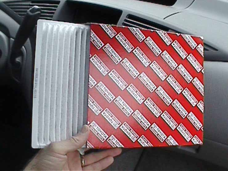 Toyota Cabin Air Filter Replacement - 87139-YZZ08