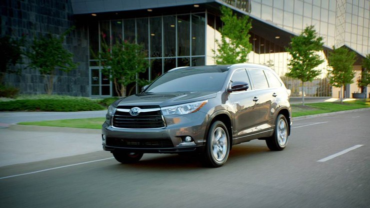 Toyota Launches New 2014 Toyota Highlander Hybrid