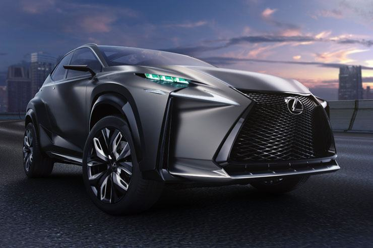Lexus Goes Turbo - LF-NX Advanced Crossover Concept
