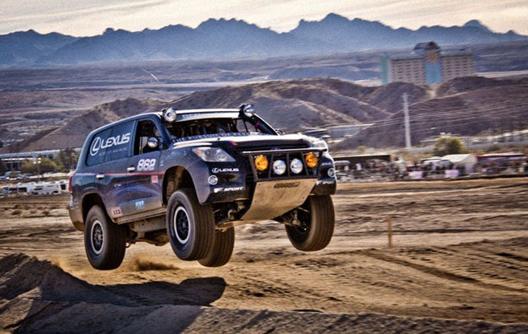 Lexus Captures Second Baja 1000 Race Title